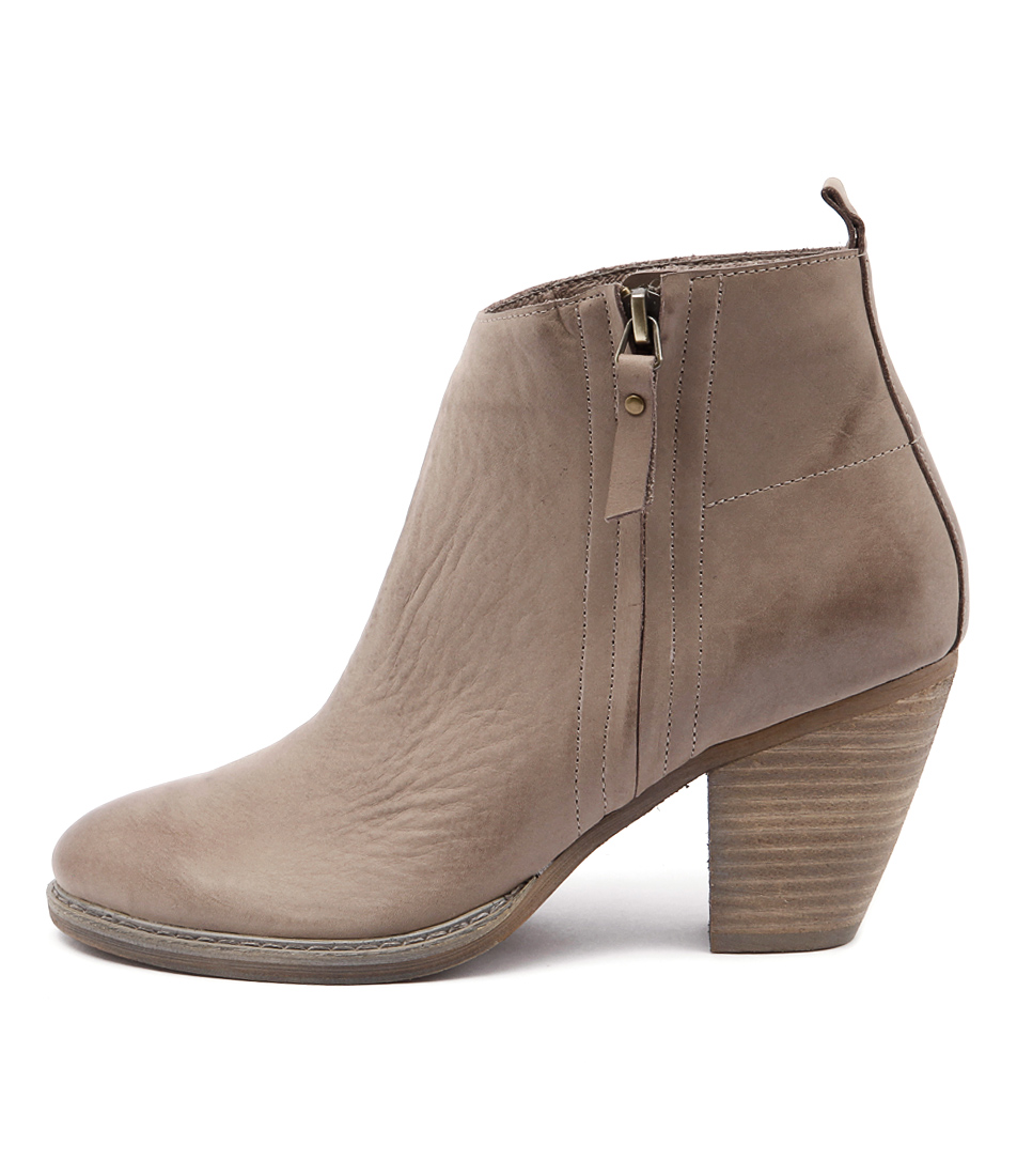 Mollini Matcher Taupe Casual Ankle Boots