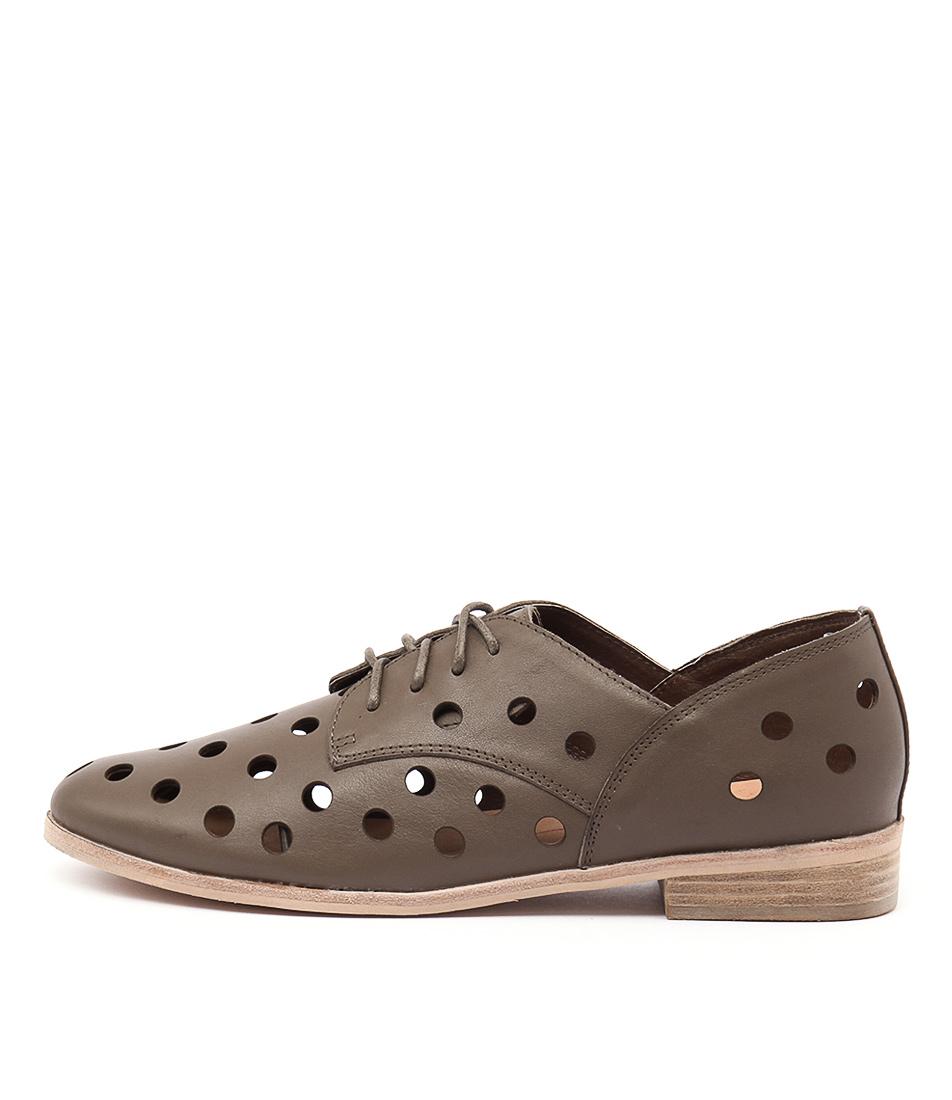Mollini Quartet Taupe Casual Flat Shoes