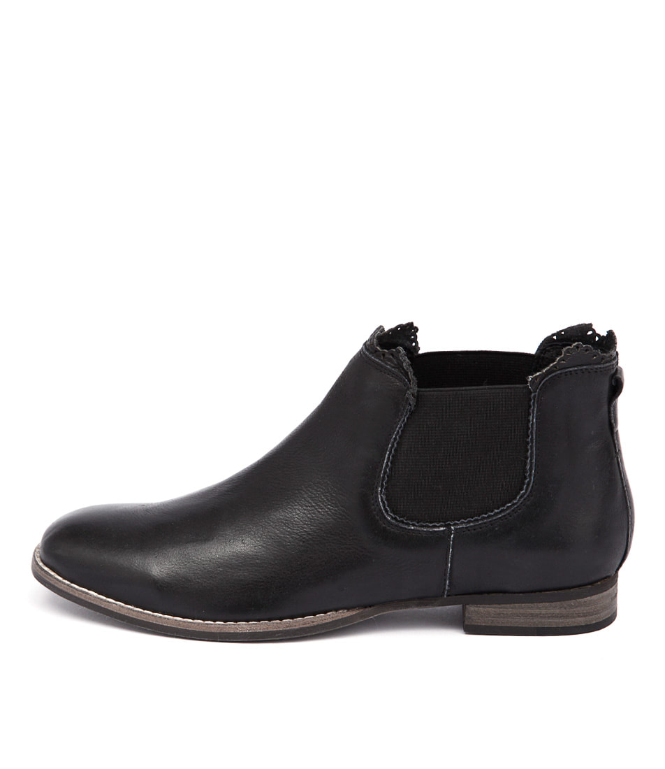 Mollini Whippy Black Ankle Boots