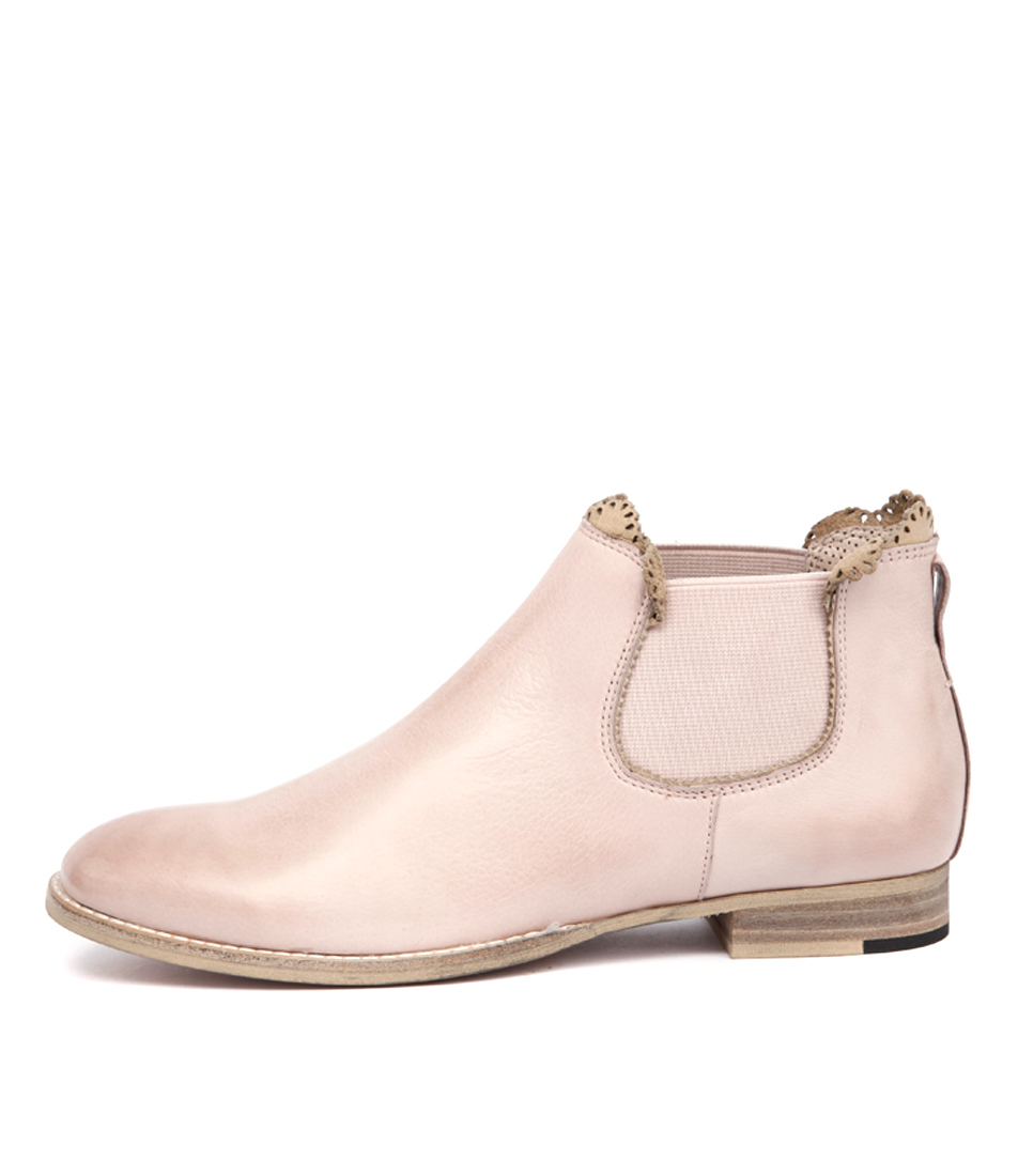 Mollini Whippy Pale Pink Casual Ankle Boots