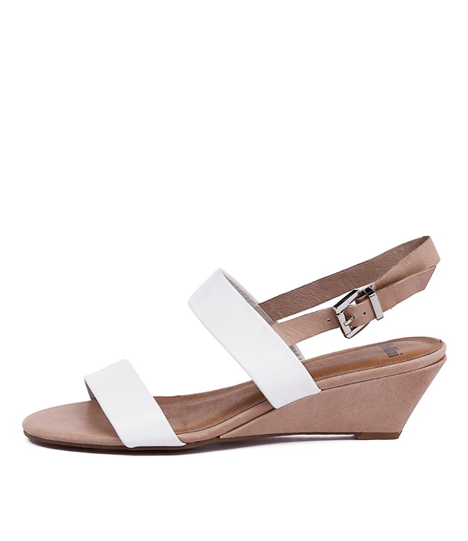 Mollini Maxim Mo White Nude Sandals