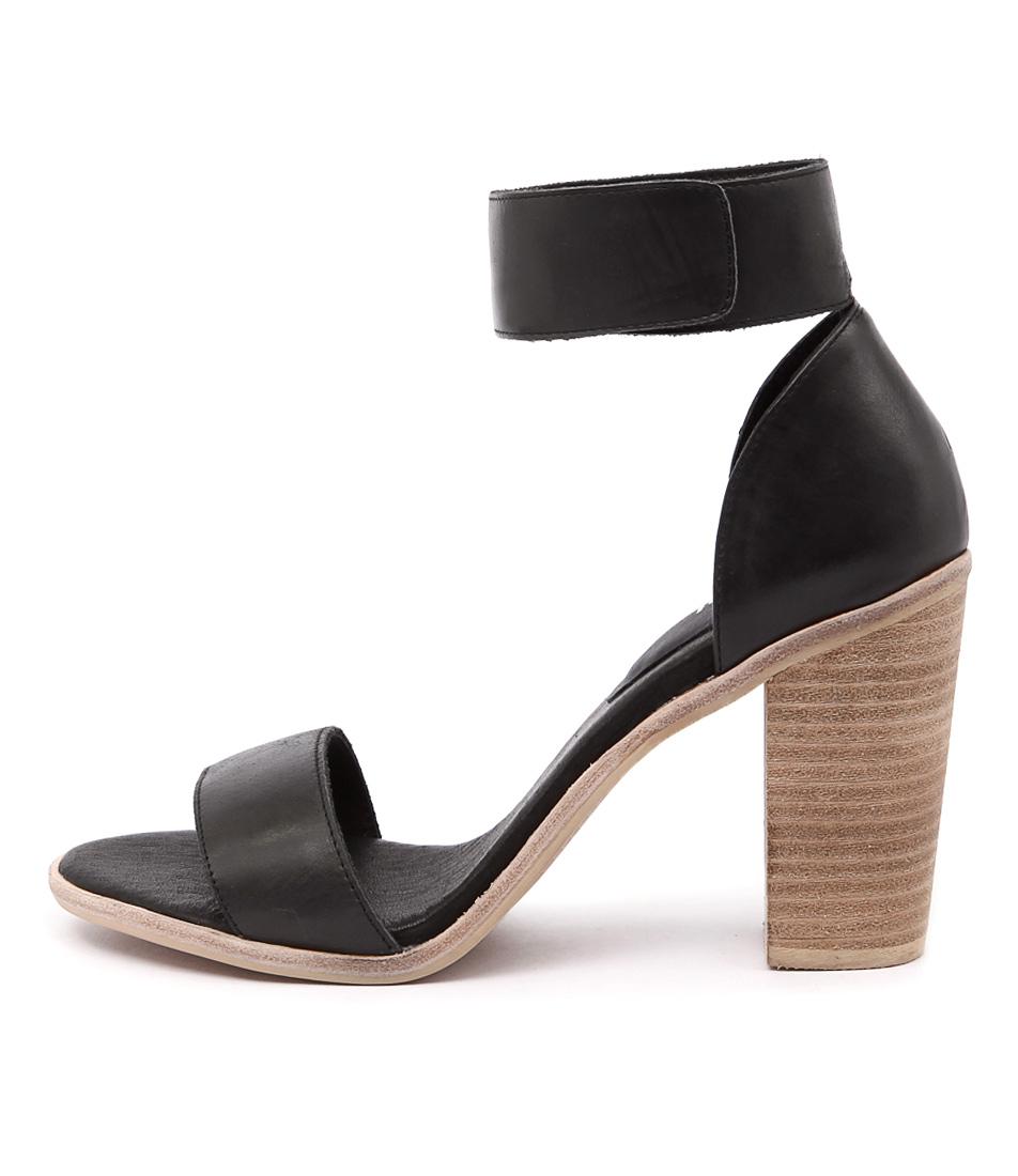 Mollini Blip Mo Black Sandals
