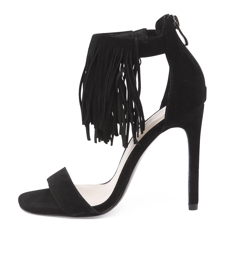 Mollini Canyon Black Dress Heeled Sandals