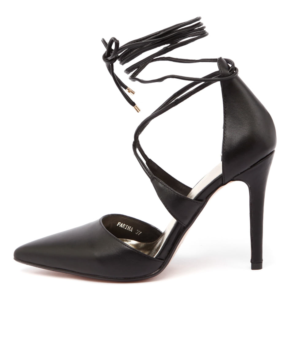 Mollini Farina Black Dress Heeled Shoes buy  online