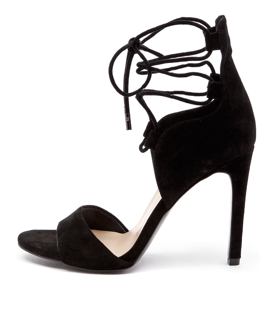 buy Mollini Laurie Mo Black Heeled Sandals shop Mollini Sandals online