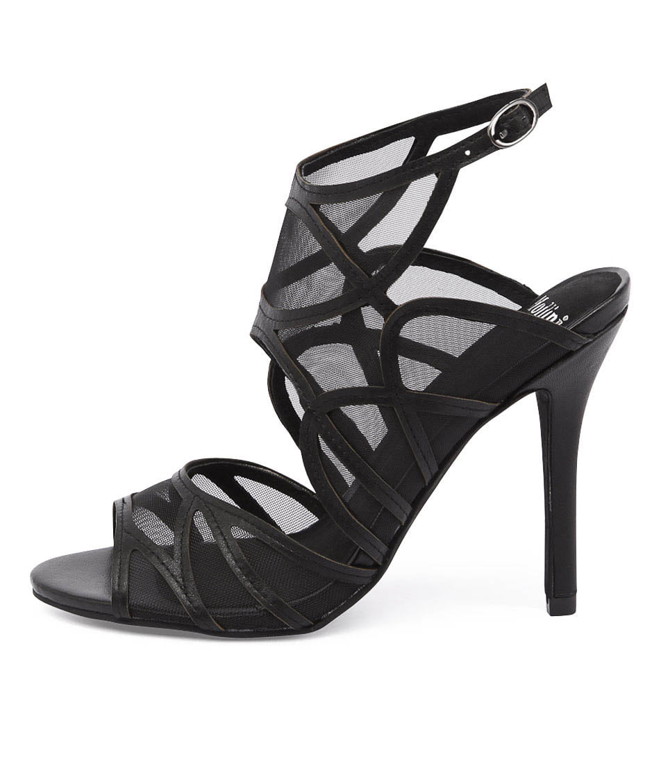 Mollini Lavoke Black Heeled Sandals