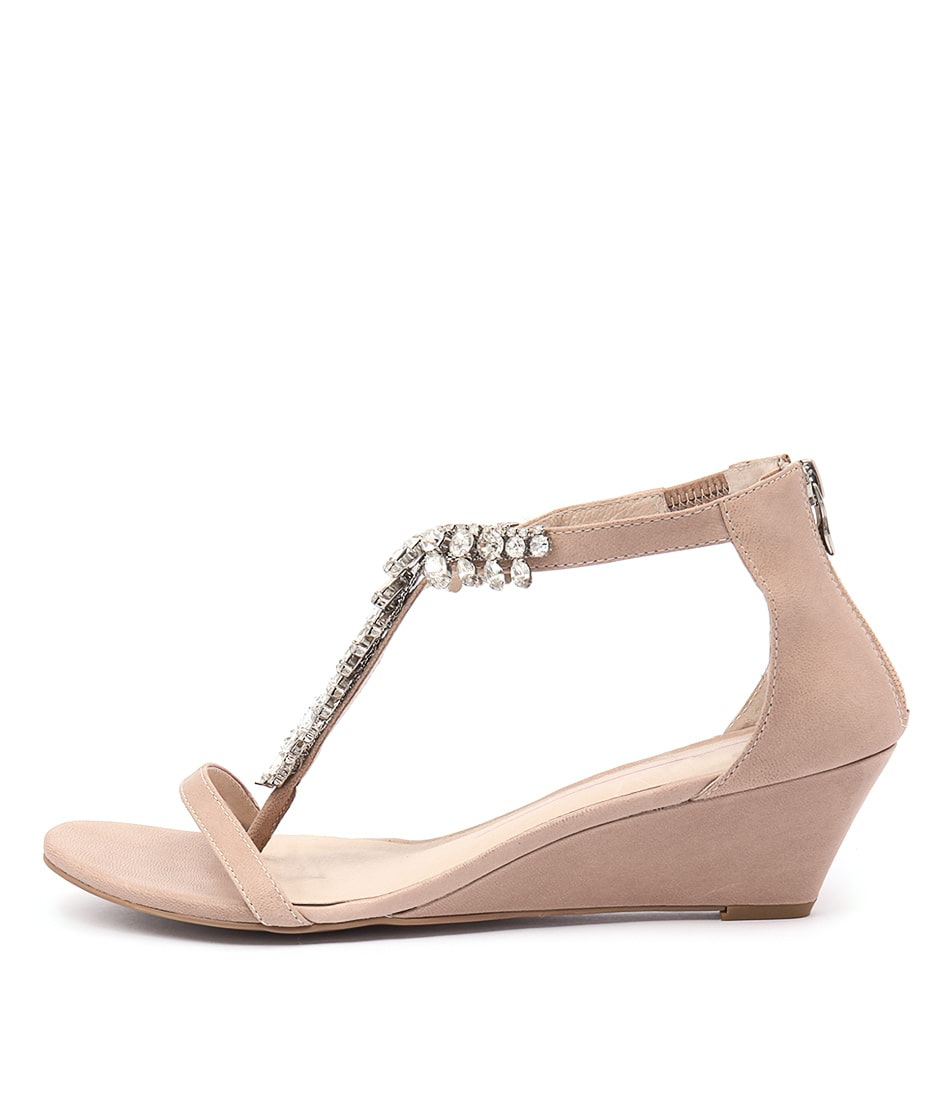 Mollini Malish Nude Casual Heeled Sandals