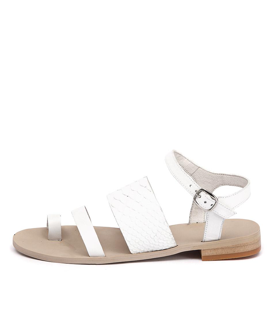 Mollini Reign White Sandals