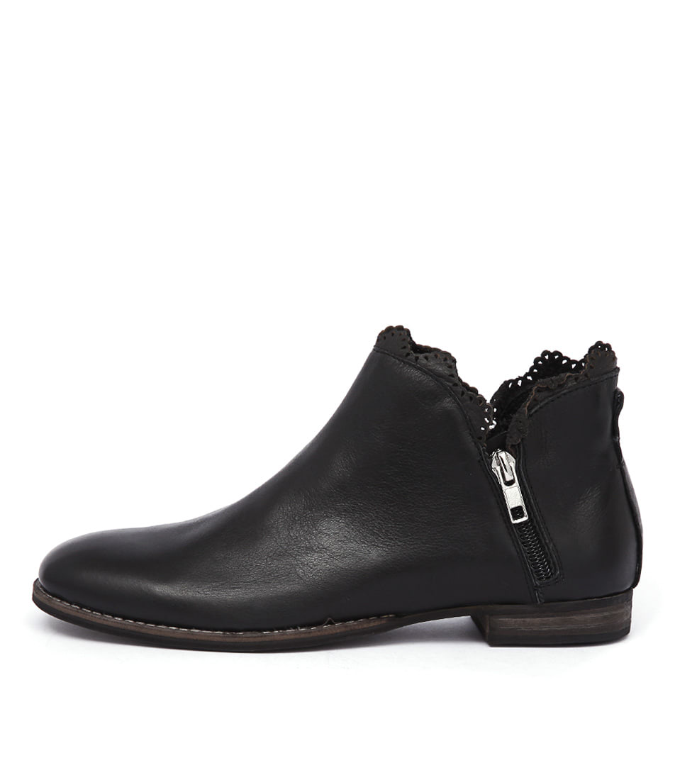 Mollini Whirl Black Ankle Boots
