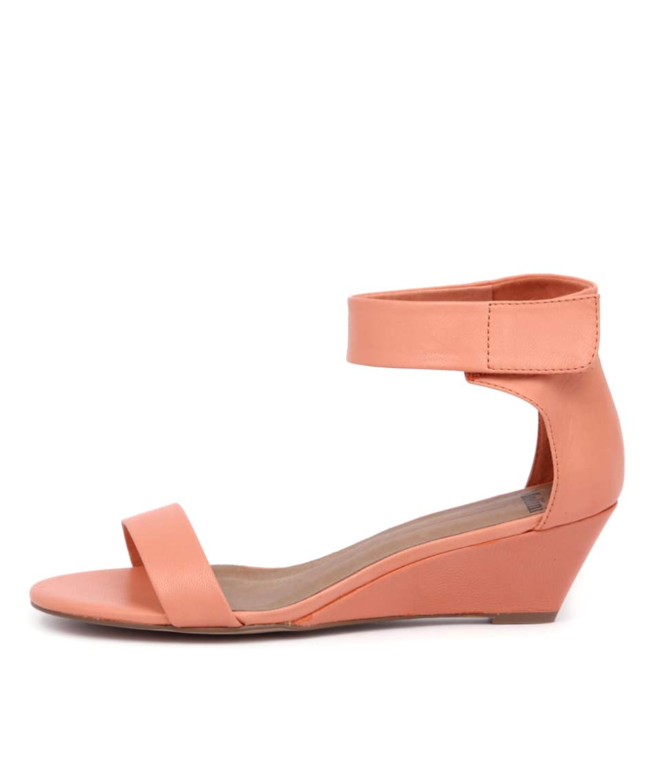 Buy Mollini Marsy Orange Heeled Sandals online with free shipping