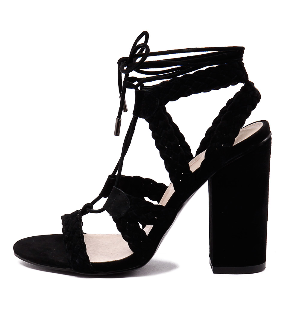 Mollini Fame Mo Black Dress Heeled Sandals