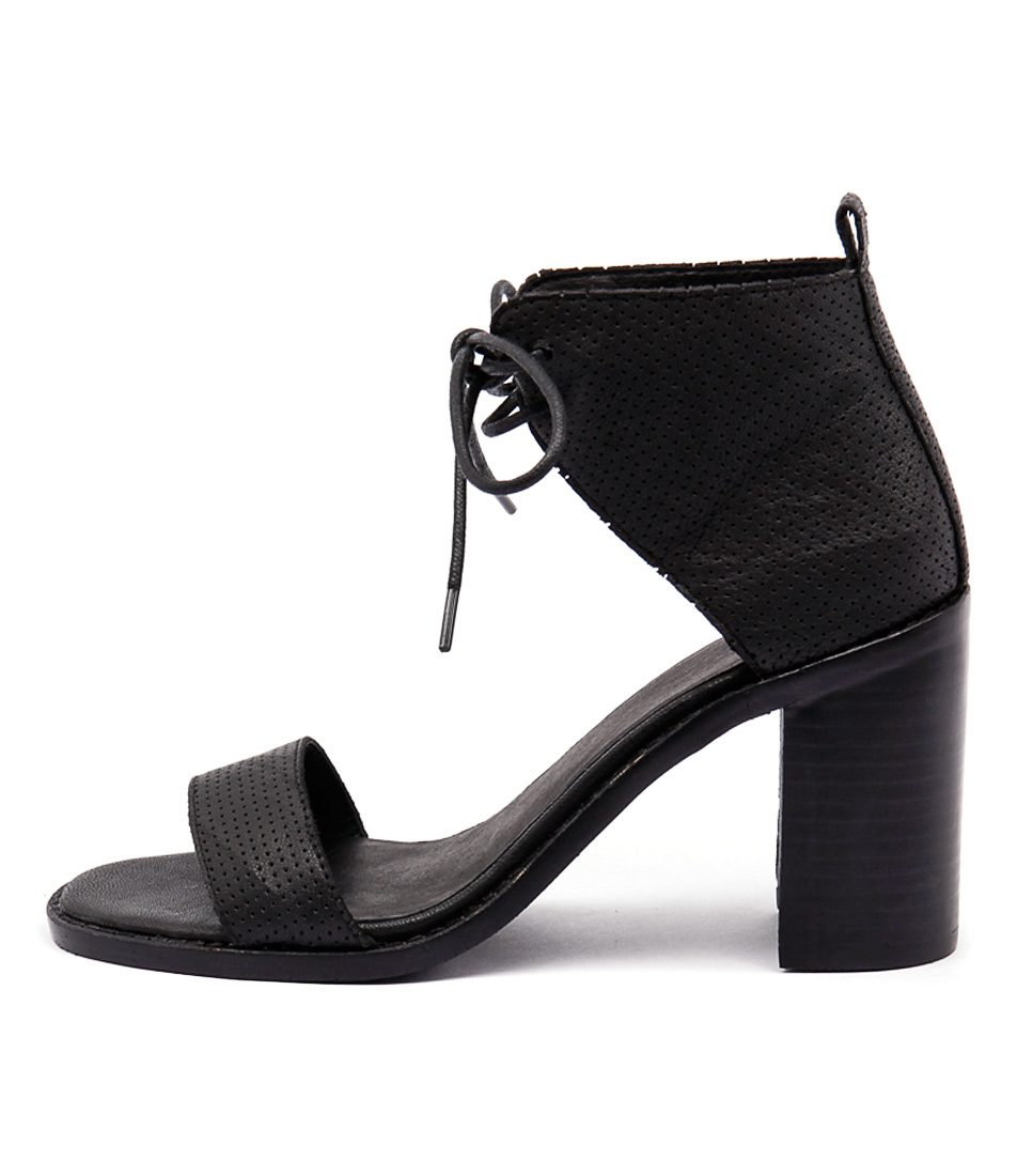 Mollini Jettie Black Heeled Sandals