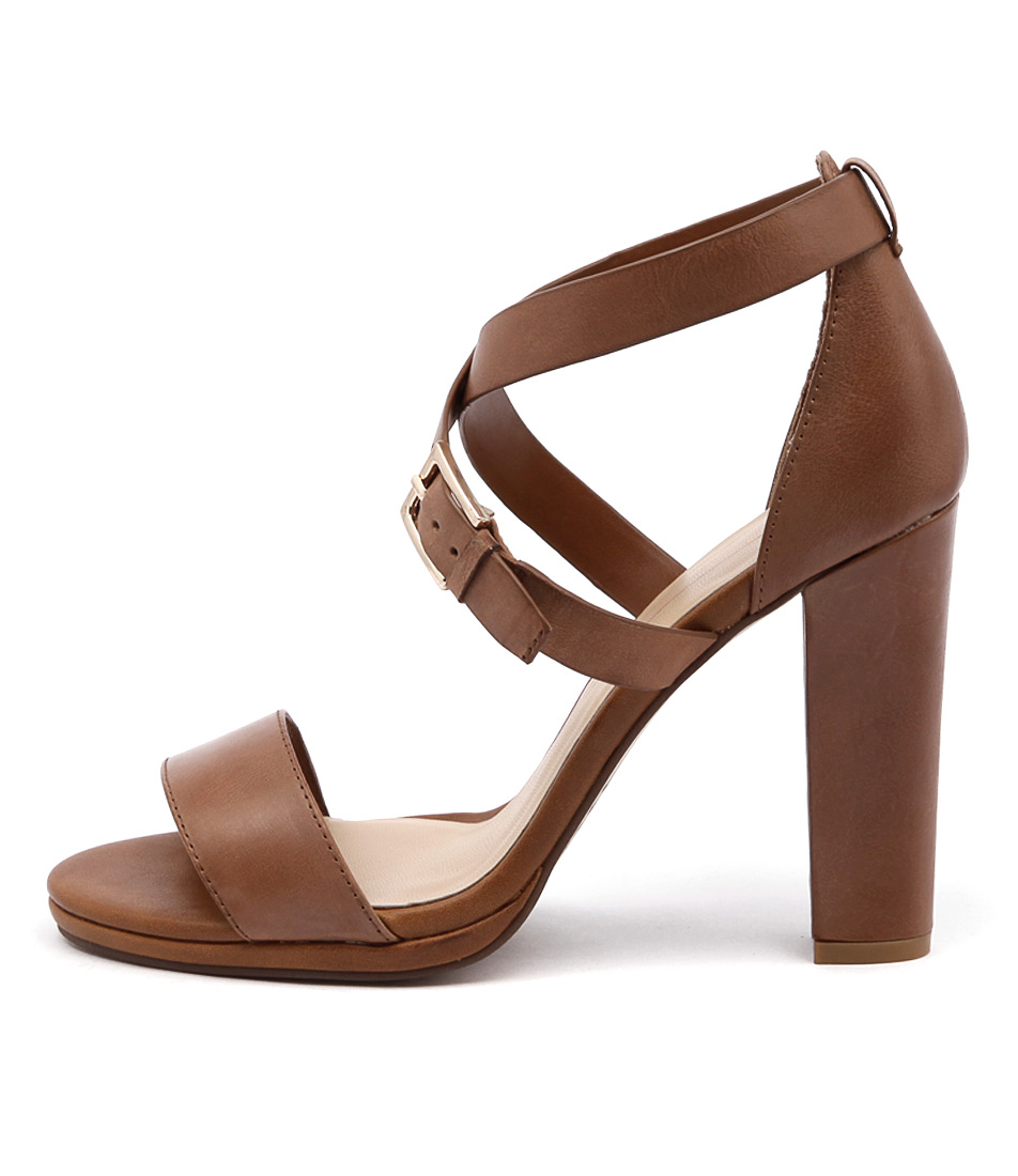 Mollini Dimitry Tan Casual Heeled Sandals