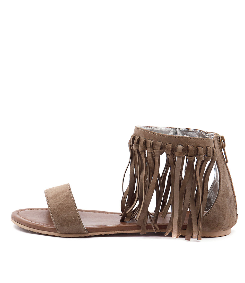 Mollini Seth Mo Tan Casual Flat Sandals