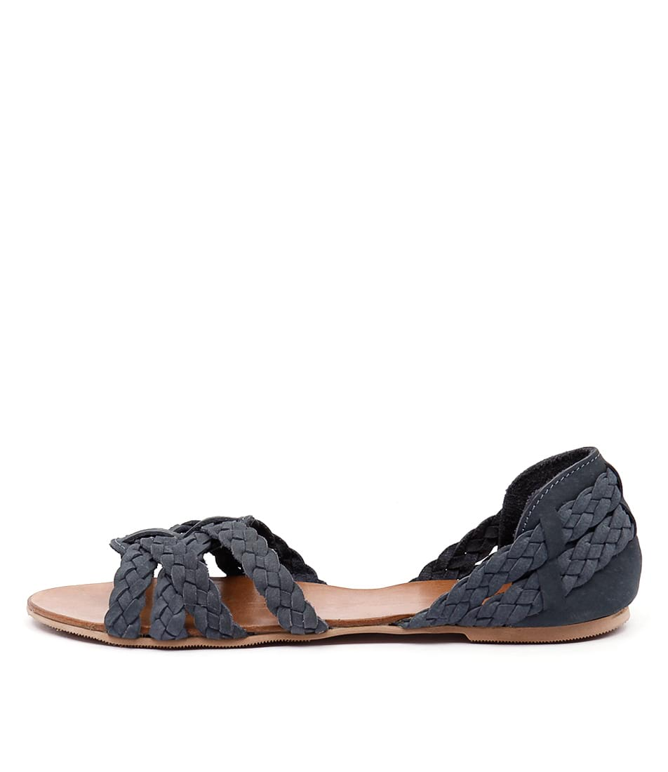 Mollini Shawn Blue Sandals  Flat Sandals
