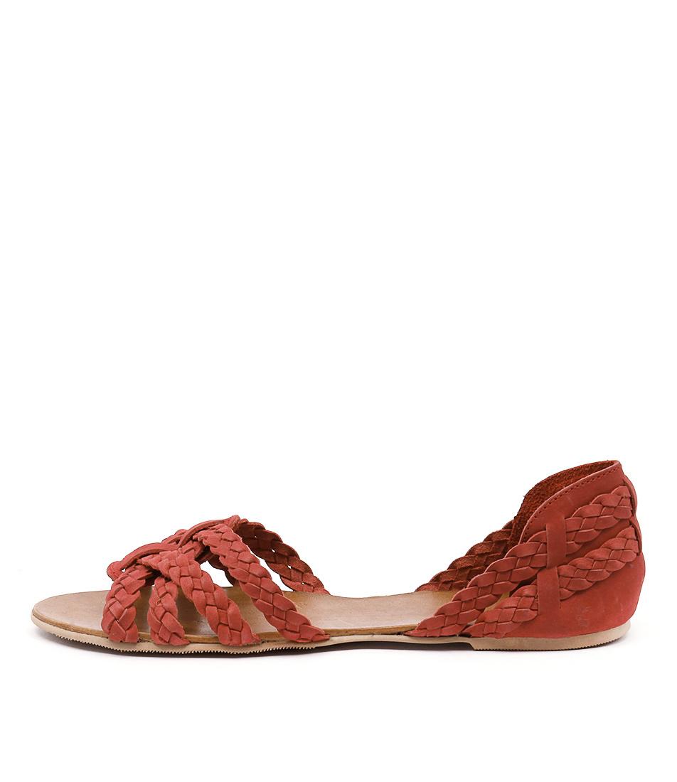 Mollini Shawn Red Sandals