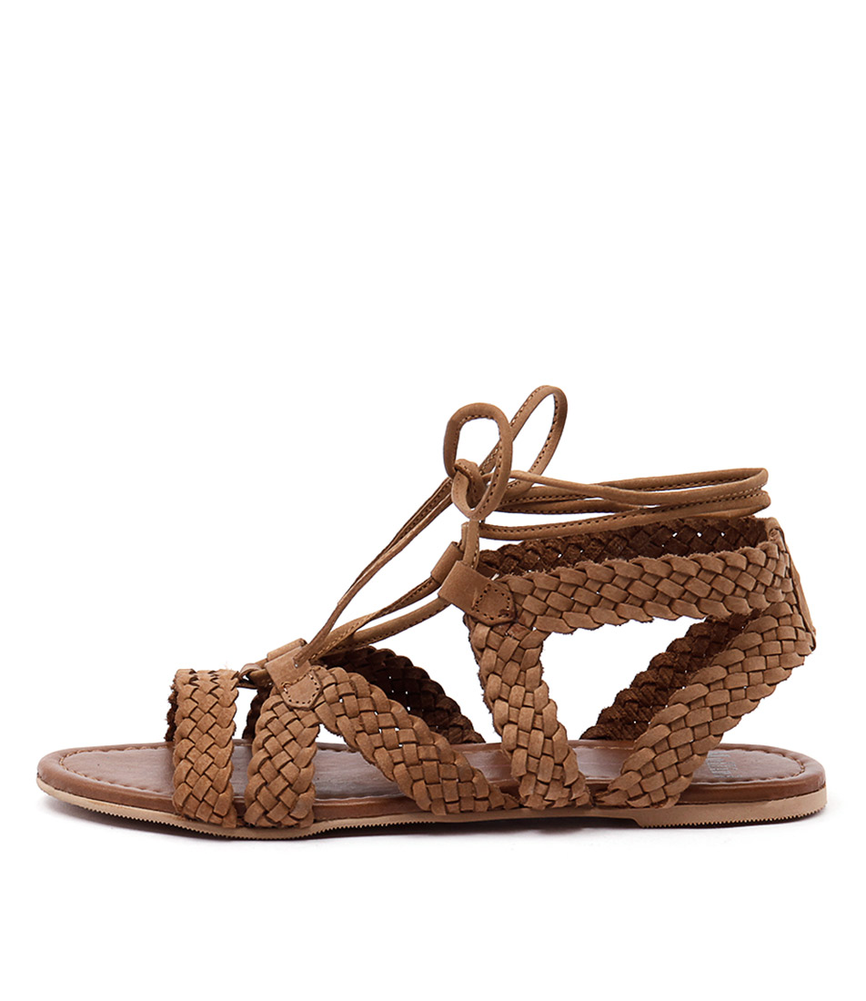 Mollini Swizz Tan Casual Flat Sandals