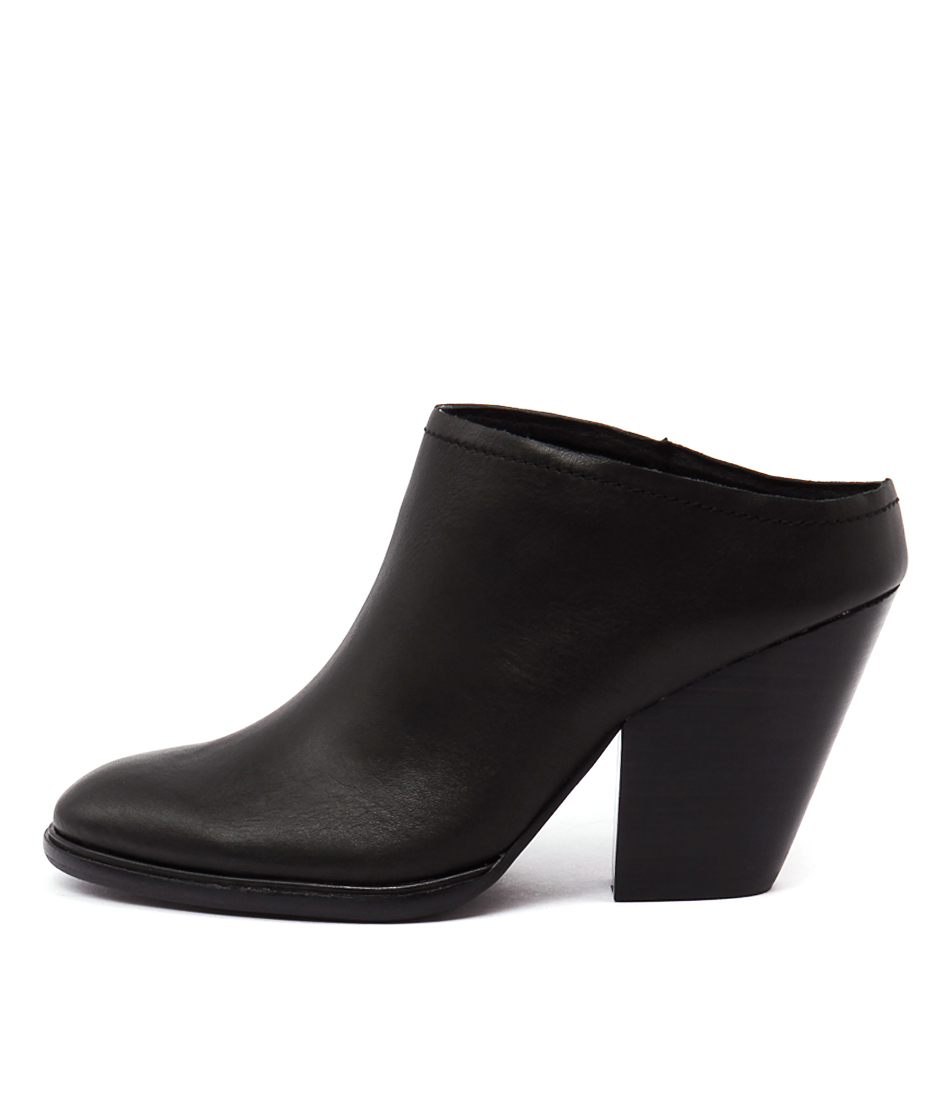 Mollini Amaly Black Casual Heeled Shoes