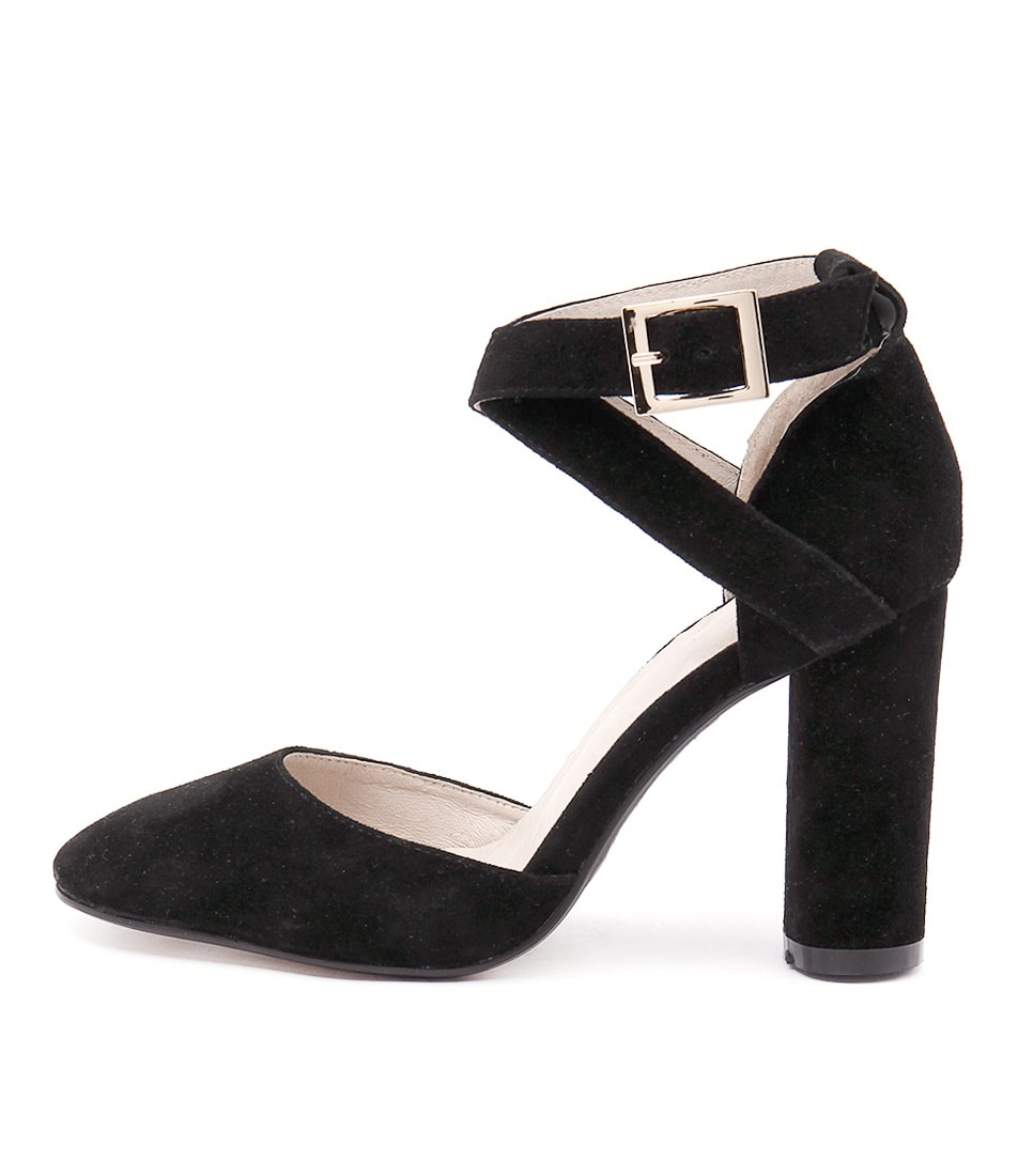 Mollini Ansa Black Dress Heeled Shoes