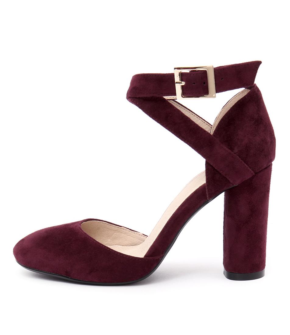 Mollini Ansa Burgundy Heeled Shoes