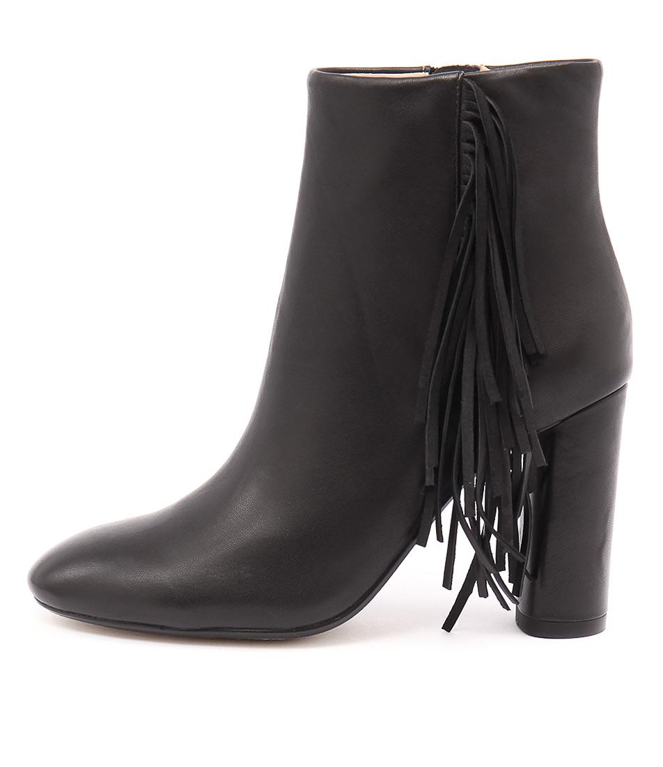 Mollini Asai Black Dress Ankle Boots