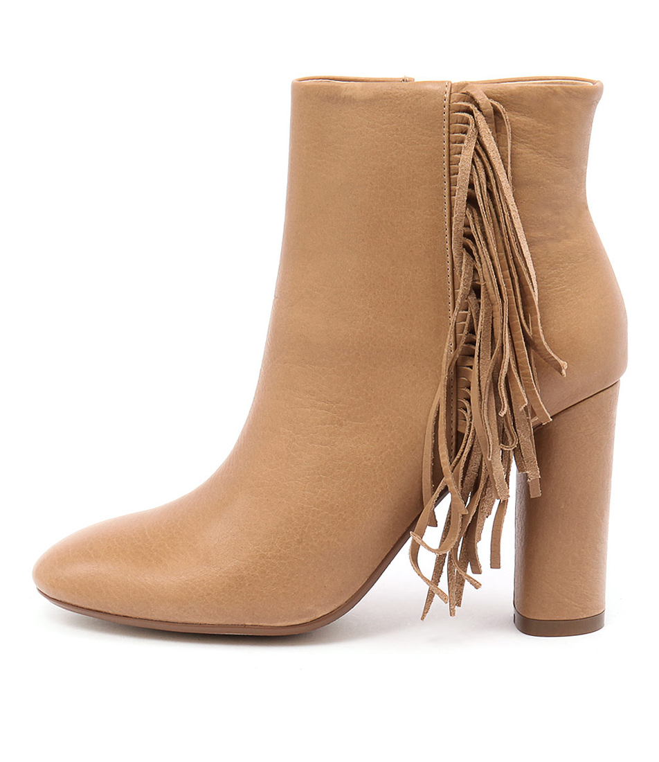 Mollini Asai Camel Dress Ankle Boots