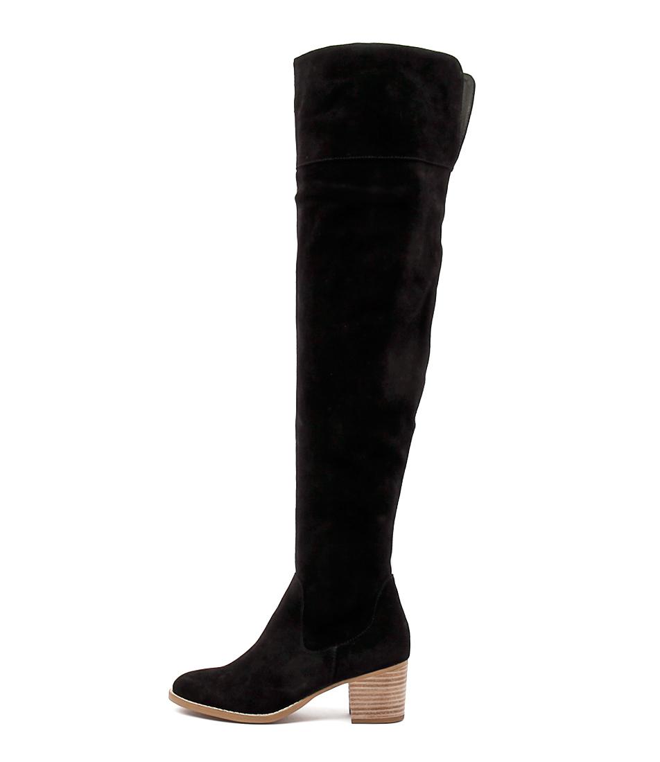 Mollini Afiny Black Long Boots