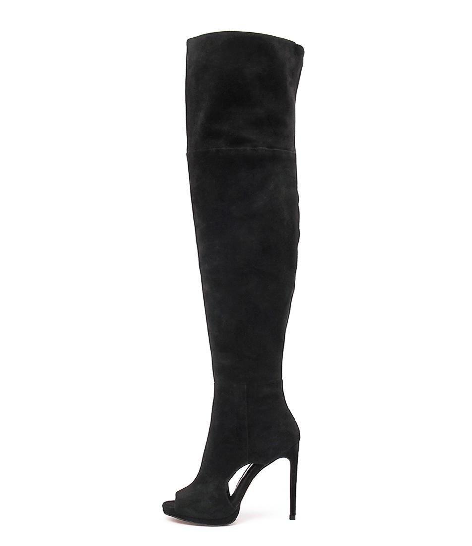 Mollini Cyla Black Long Boots