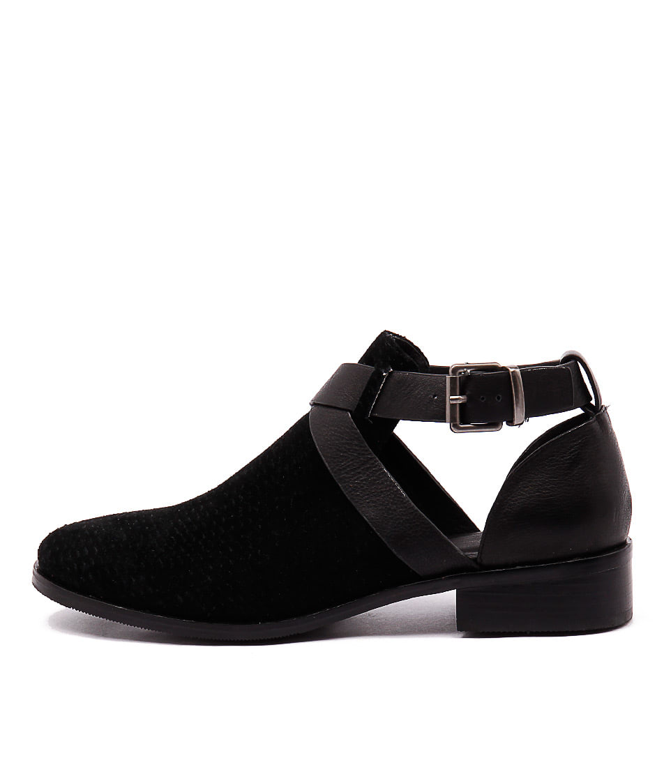 Mollini Flours Black Flat Shoes