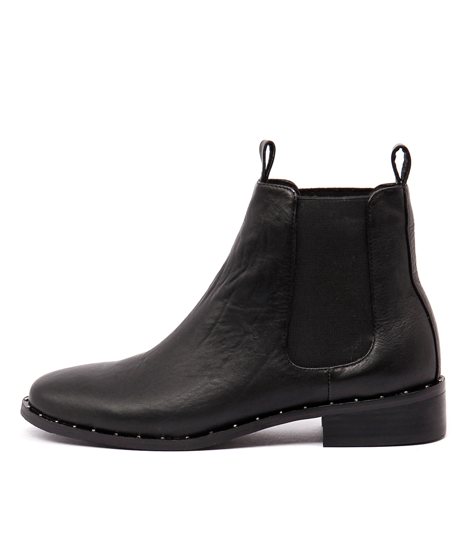 Mollini Fenny Black Ankle Boots