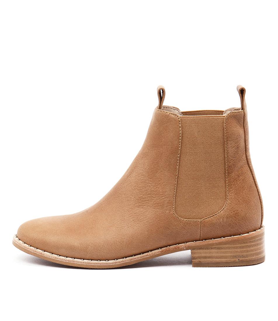Mollini Fenny Tan Ankle Boots