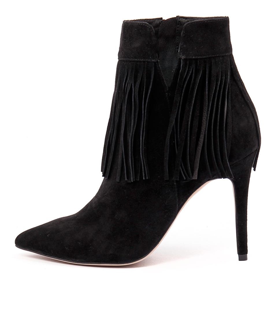 Mollini Petter Black Ankle Boots