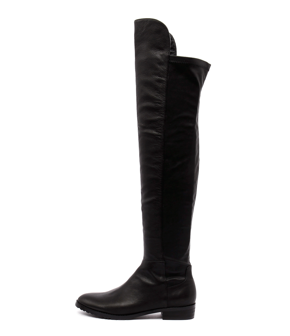 Mollini Possy Black Long Boots