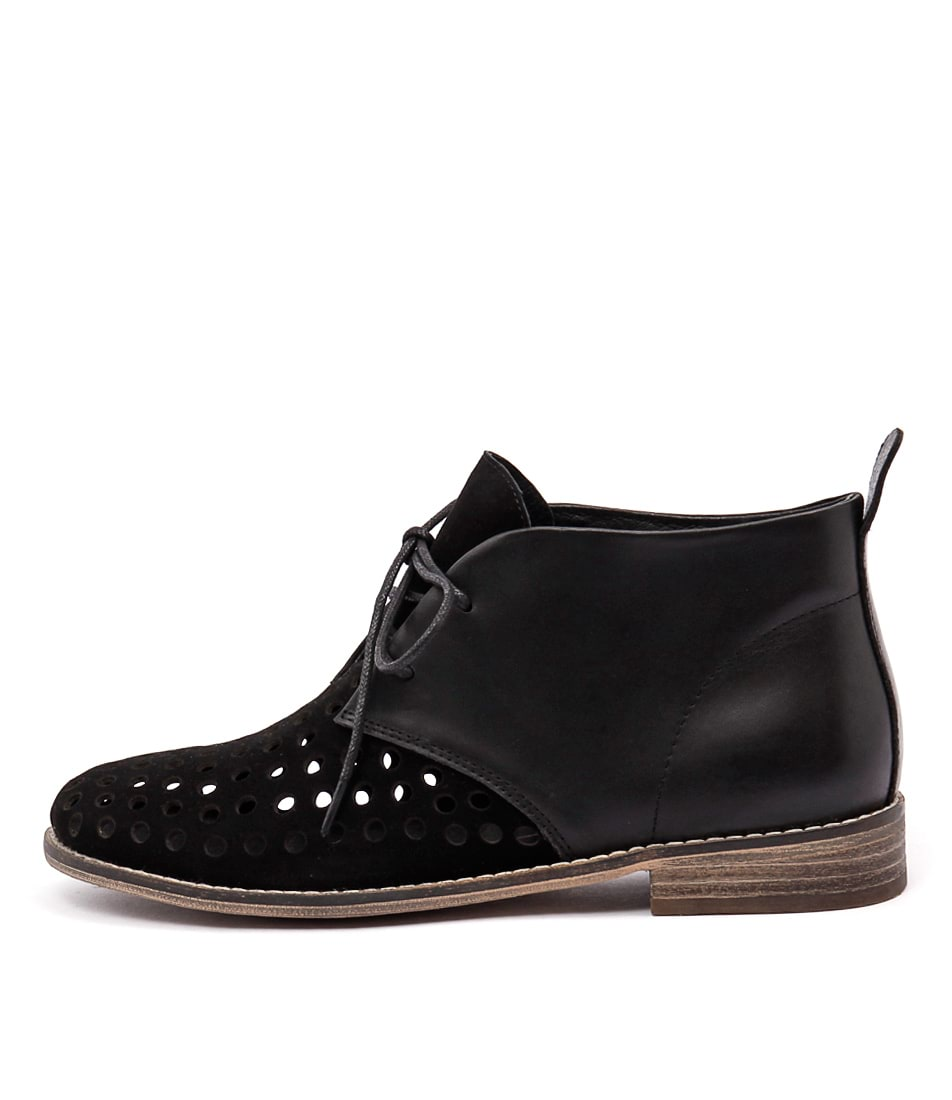Mollini Quagin Black Ankle Boots