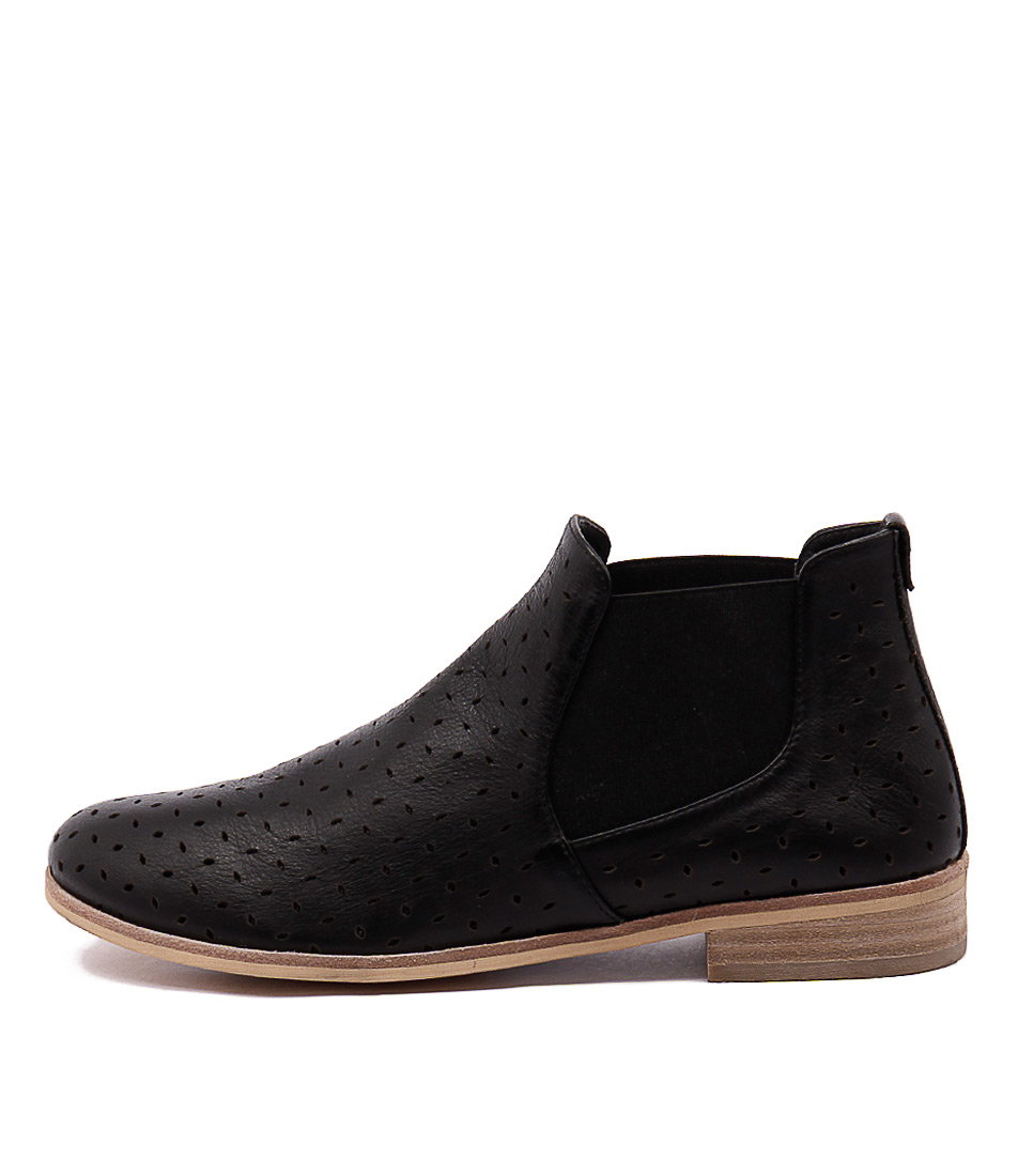 Mollini Quonut Black Ankle Boots