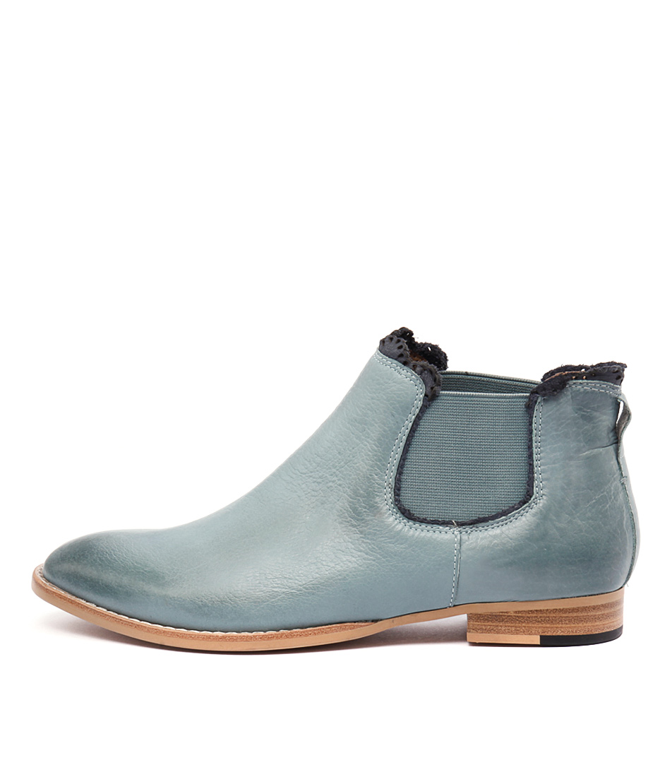 Mollini Whippy Seagreen Casual Ankle Boots