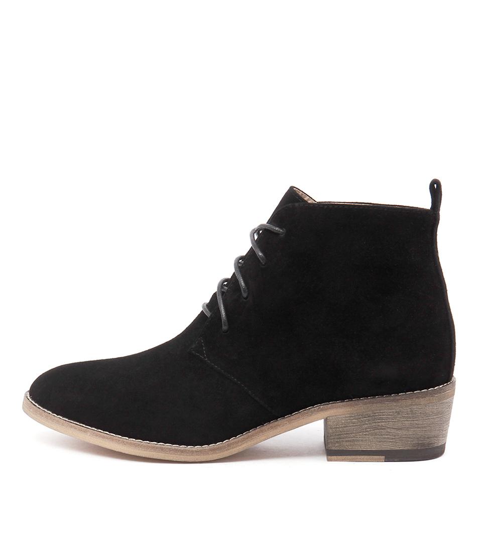 Mollini Zanie Black Casual Ankle Boots