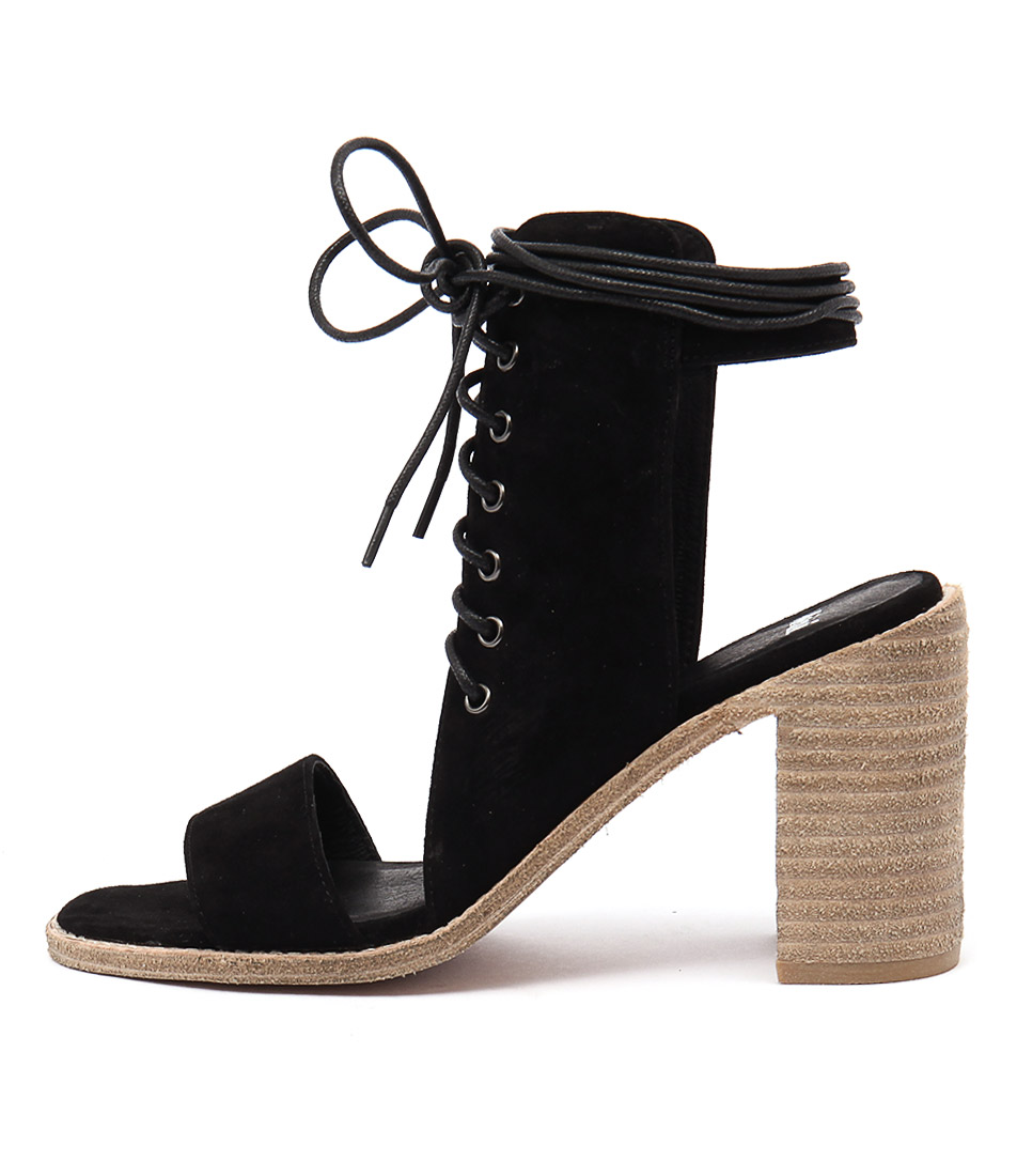 Mollini Jeloy Black Heeled Sandals
