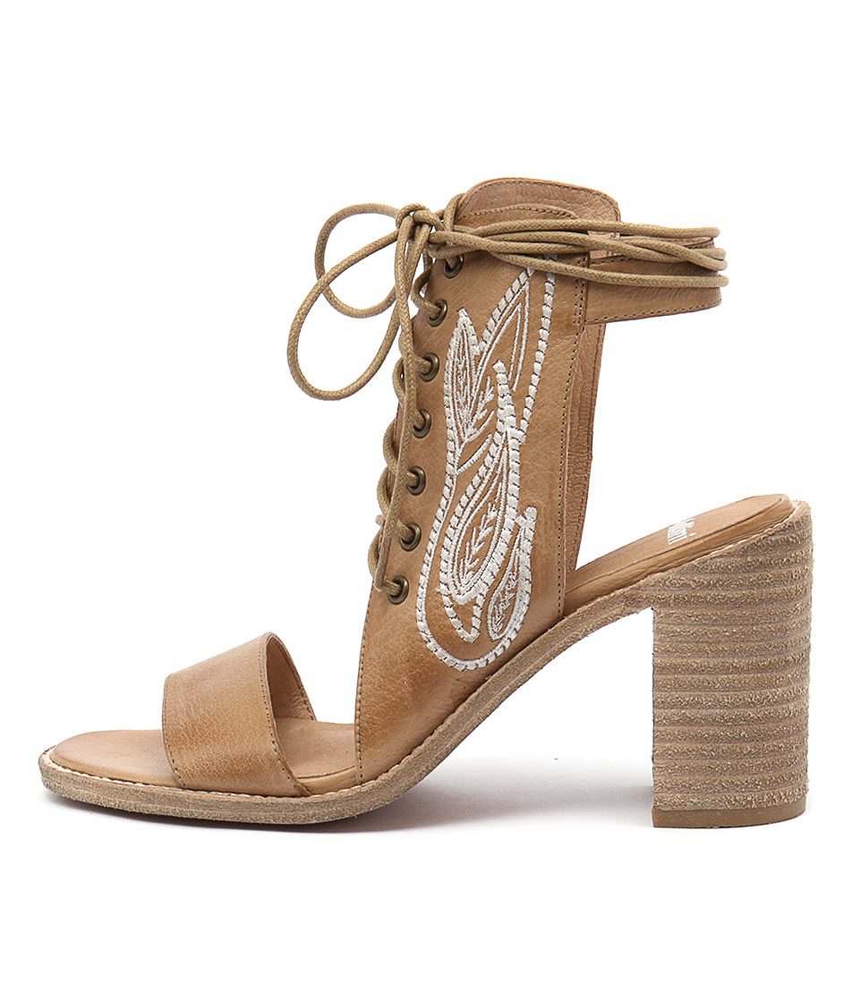 buy Mollini Jitty Tan Heeled Sandals shop Mollini Sandals online