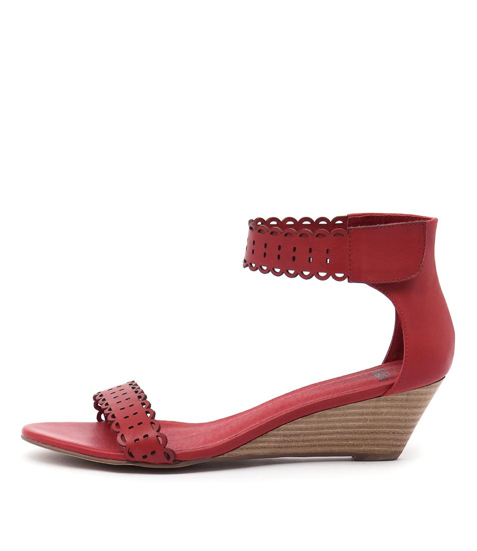 Mollini Mayak Red High Heels Shoes