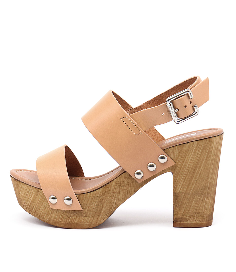Mollini 7255 M Naturale (Dark Nude) Heeled Sandals