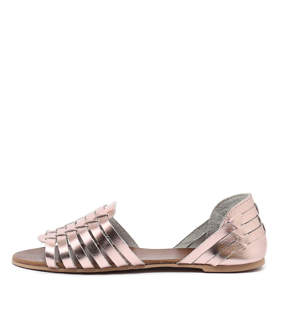 Mollini Felisite Rose Gold Metallic Sandals