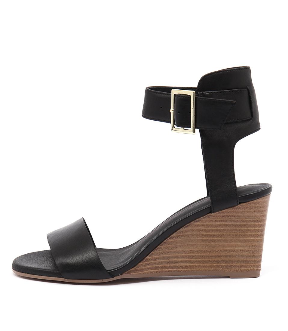 Mollini Beater Black Sandals