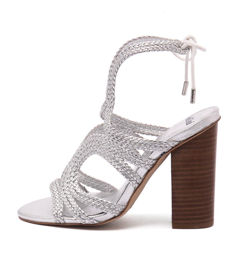 Mollini Freddy Silver Sandals