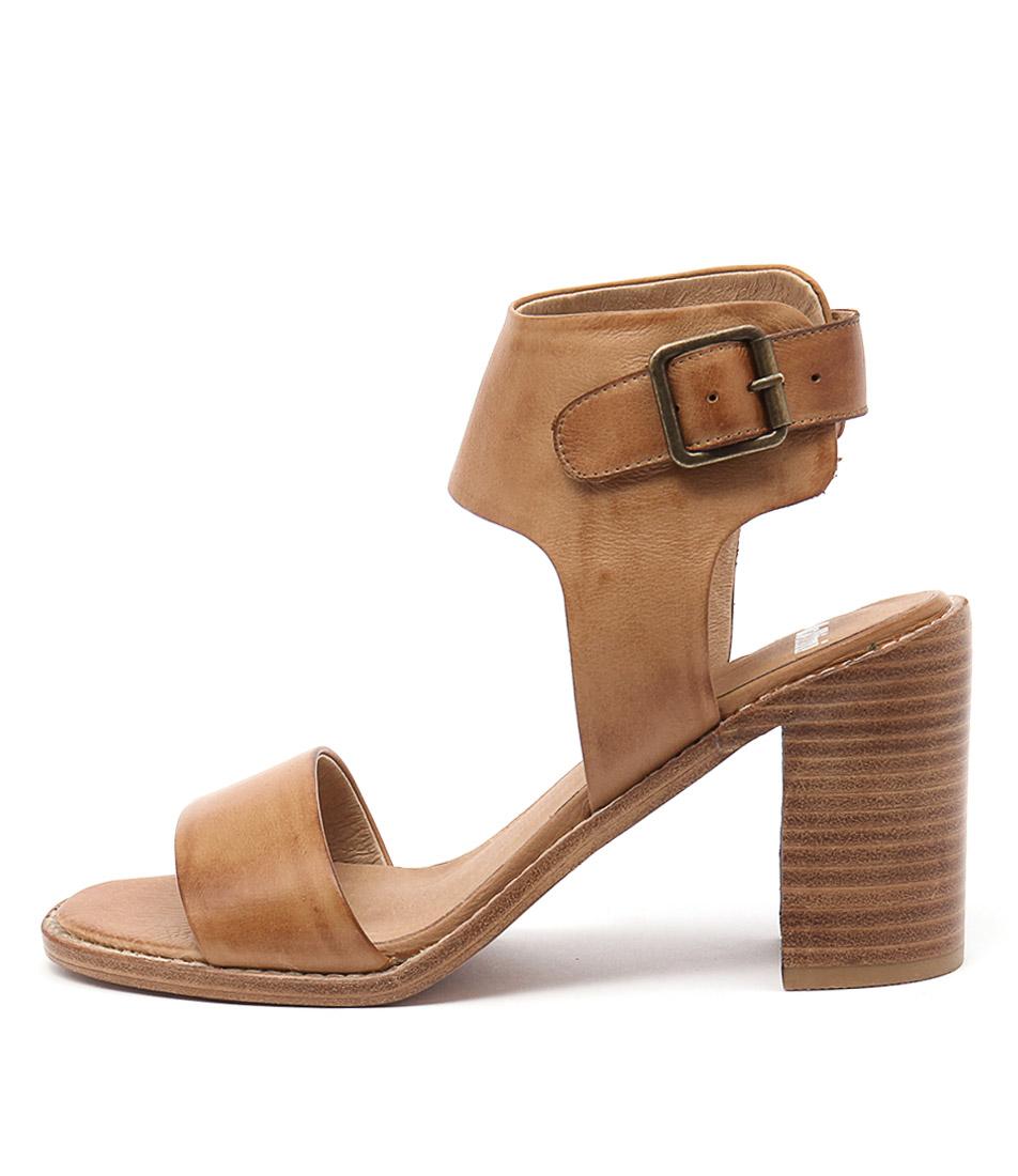 Mollini Josso Tan Heeled Sandals