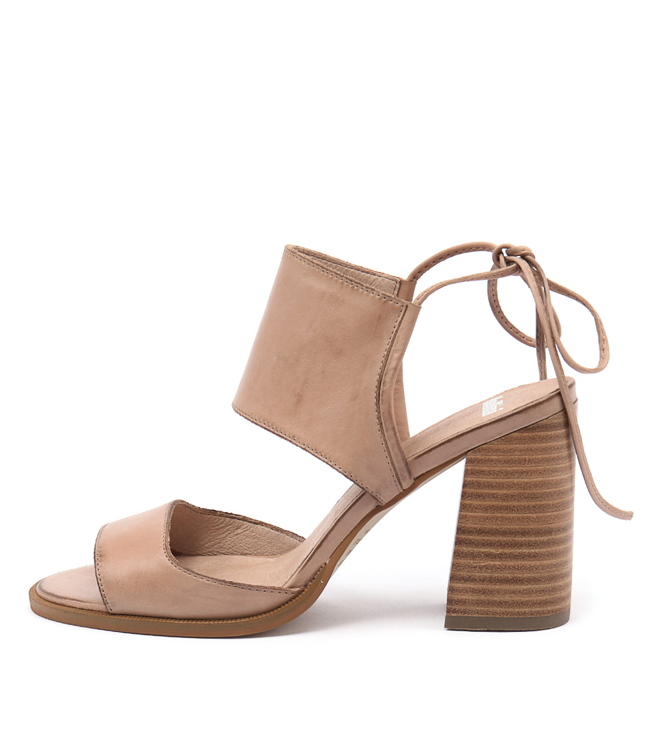 Mollini Mindy Nude Natural Heel Sandals