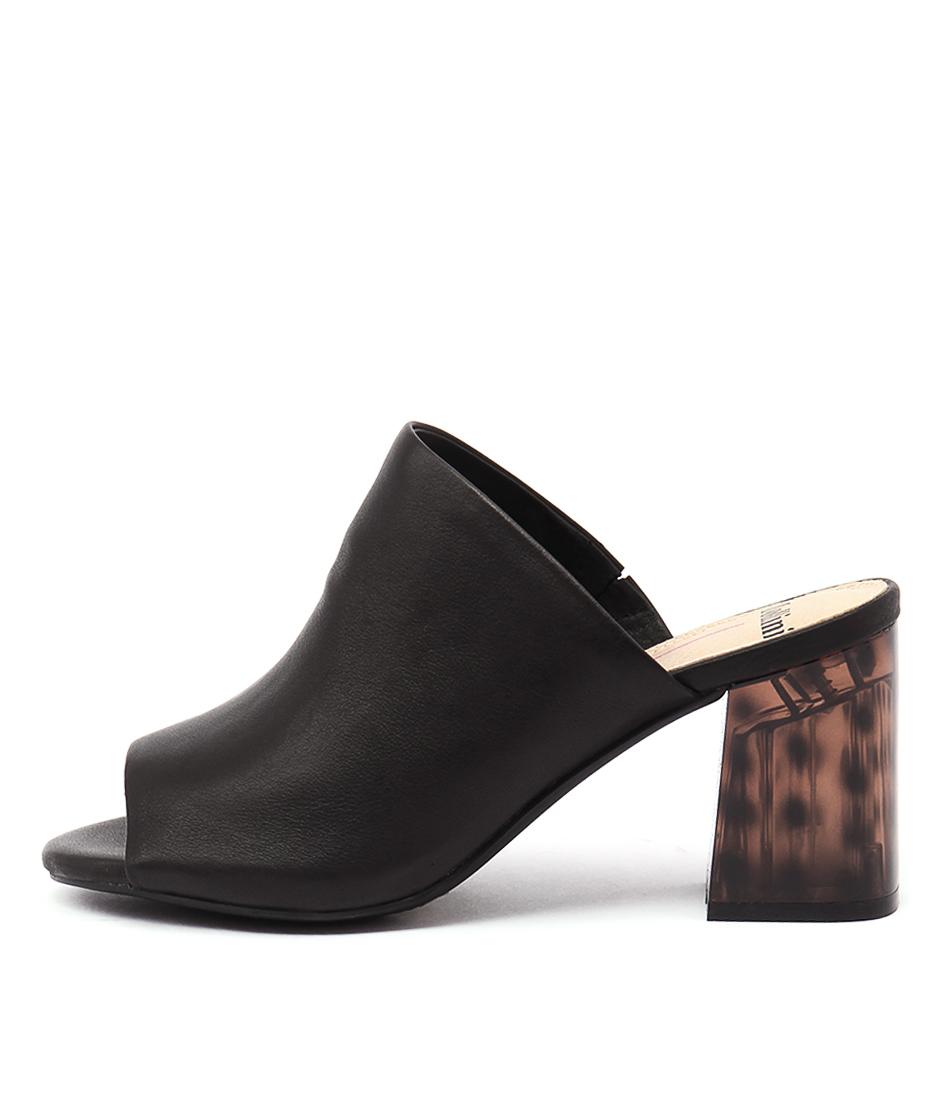 Mollini Kerrie Black Tortoiseshell Sandals