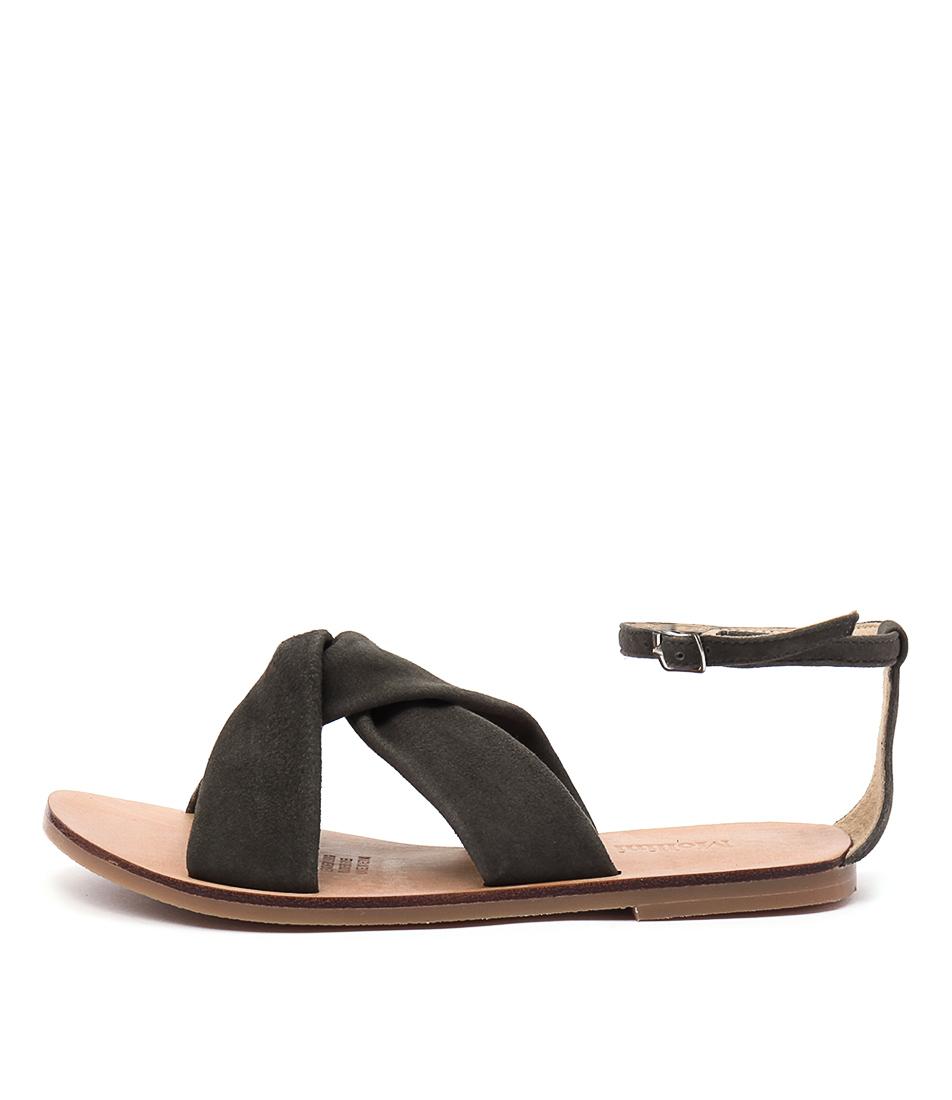 Mollini Oceana Khaki Casual Flat Sandals