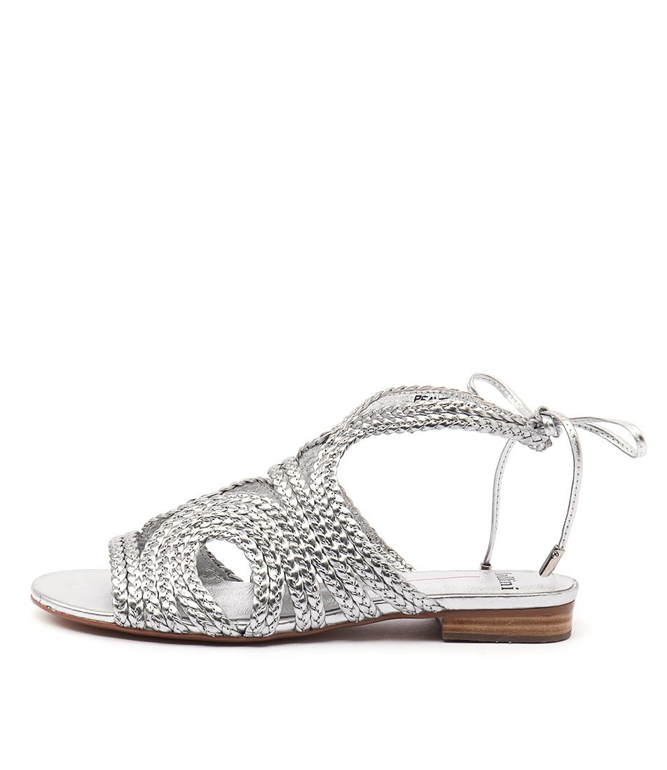 Mollini Peave Silver Sandals