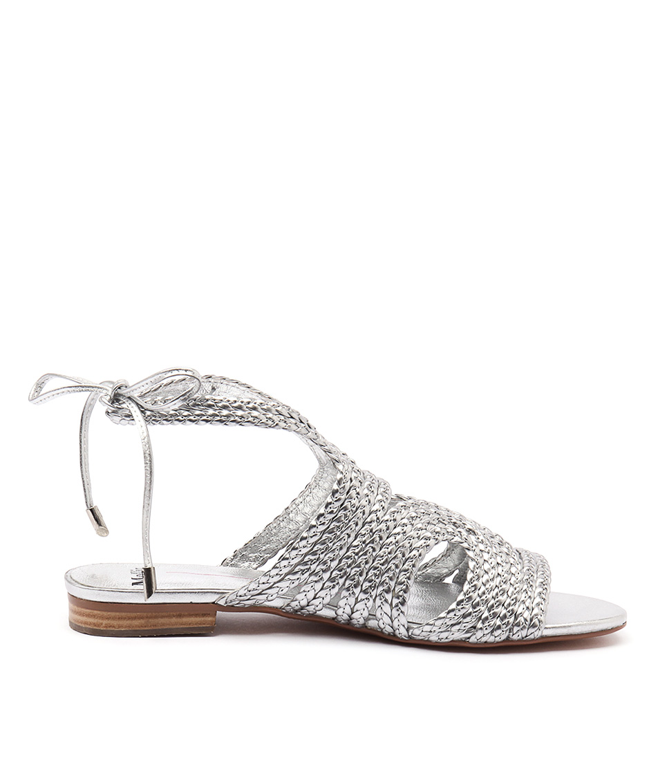 New Mollini Peave Silver Womens Shoes Dress Sandals ...